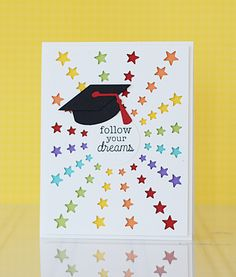 Graduation card ideas for high school and college sayings messages taylored expressions introducing new products for grads more star cardsshining stargraduation m4hsunfo