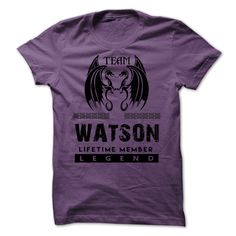 Team Watson . Lifetime Member. Legend