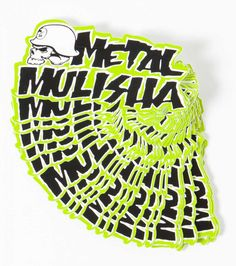 "Metal Mulisha Iconoclast 3"" sticker Decal Moto-X FMX SKULL Helmet Logo Classic  #metalmulisha"