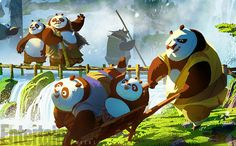 Kung Fu Panda 3 exclusive: See concept art and cinemagraphs of panda village | EW.com  tags : kungfupanda dreamworks po animation 3d cgi