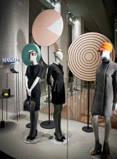 """MAX&CO.,Milan,Italy, """"Are we going around in circles?"""", by Studiopepe, pinned by Ton van der Veer"""