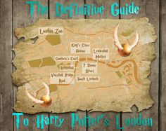 The Super Fan's Guide To Harry Potter's London (where was this a month earlier when I was actually IN London?!)