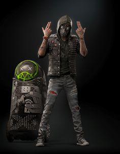 Gotta love the Cyberpunk inspired Wrench character from Watch Dogs 2 Wrench Watch Dogs 2, Watch Dogs 1, Game Character, Character Concept, Character Design, Video Game Art, Video Games, Foto Top, Chloe Price