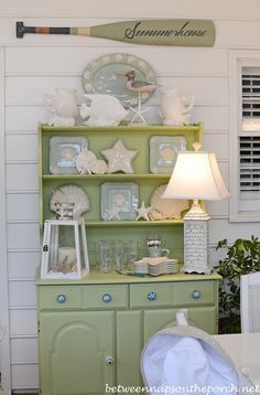 The Summer Porch: Beach Cottage Decor