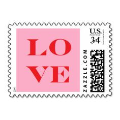 """Love Stamp"" Postage Stamps"