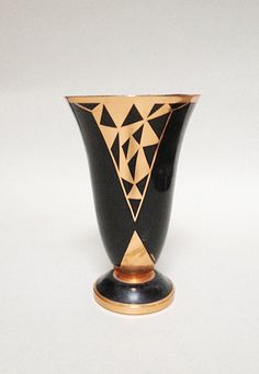Jacques Douau Rare Signed Vase in Dinanderie - Art Deco