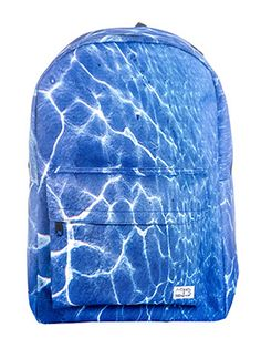 Just by looking at the Spiral Blue Lagoon Backpack you'll feel like you're underwater! #spiral #backpack