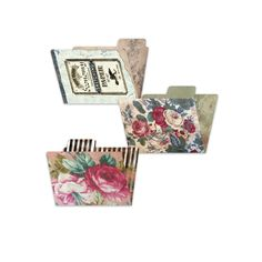 Gypsy Moments ATC File Folders - perfect way to store handmade Artist Trading Cards and other mini pieces of art.
