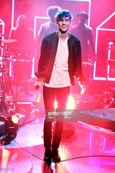 Musical guest <a gi-track='captionPersonalityLinkClicked' href='/galleries/personality/7343589' ng-click='$event.stopPropagation()'>Troye Sivan</a> performs on December 8, 2015 --