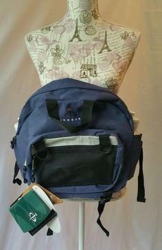 NWT InGear Dual Hydration Fanny Waist Pack Hiking Bag Black Blue New #Ingear #FannyWaistPack