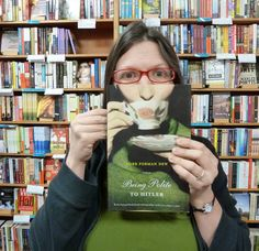 """The photo series Corpus Libris (which literally means """"Body Books"""" in Latin) was created by Emily Pullen on one slow Thursday night at the Los Angeles independent bookstore Skylight Books, where Pullen worked"""