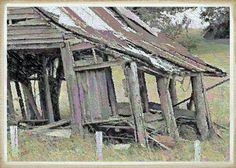 Dilapidated and Barely Standing - I'm not sure if it's still there or long gone by now.