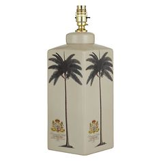 Buy India Jane Palm Tree Rectangle Lamp Base Online at johnlewis.com