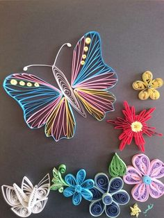 Sweet spring :) quilling by m.e