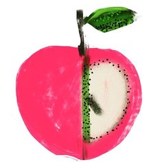 I have just been told I am going to New York tomorrow ! So , we have 24 hours in the city ; we have been 3 times before so have done the… Pomes, Gelli Printing, Go To New York, Fruit And Veg, Just Be, Tell Me, Watermelon, Illustration Art, Apple