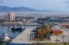 Ensenada (Mexico)  in The Morning