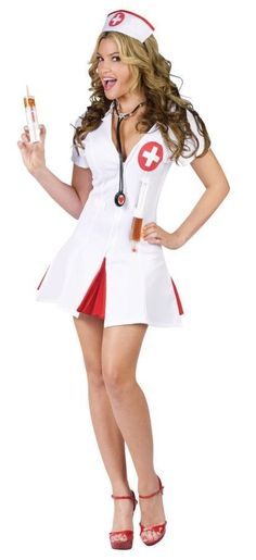 We have a great selection of Sexy Doctor and Sexy Nurse costumes. Buy your Sexy Doctor and Sexy Nurse costumes from the costume authority at Halloween Express. Costumes Sexy Halloween, Fancy Costumes, Halloween Dress, Adult Costumes, Costumes For Women, Adult Halloween, Halloween City, Halloween Fashion, Spirit Halloween