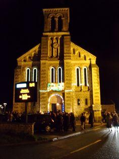 Church, Congrier, Christmas