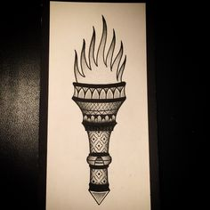 Dotwork Torch
