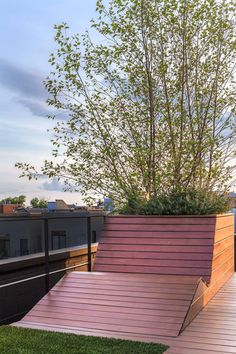 dSPACE Studio Designed A Rooftop Social Space With City Views Of Chicago