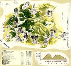 Mappa Percorso 10 Capitelli Soave