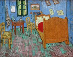 The Bedroom (Vincent Van Gogh-1889) | Art Institute of Chicago