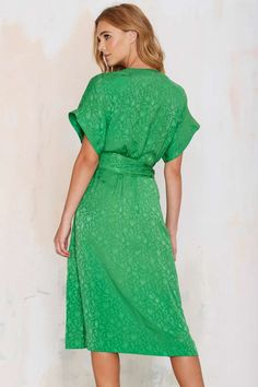 Vintage Albert Nipon Shape Up Silk Dress