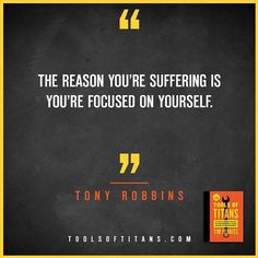 """Click to find more Quotes from Tim Ferriss' book! And to see my review of """"Tools of Titans"""". This an inspirational quote by Tony Robbins that you can find in Tim Ferriss new book Tools of Titans.  A great book for entrepreneurs, full of productivity, health, wealth, tips and habits!"""