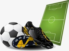 Football & Soccer in Pictures and Backgrounds - ELSOAR Kids Soccer, Soccer Party, Football Soccer, Soccer Ball, Real Madrid, Soccer Boots, Football Boots, Soccer Silhouette, Boy Cards