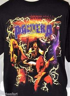 Pantera 2001 'Reinventing The Steel' USA Concert Tour NOS T-shirt XL Dimebag