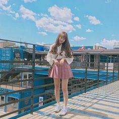 girl, ulzzang, and aesthetic image Style Ulzzang, Mode Ulzzang, Ulzzang Korean Girl, Ulzzang Fashion, Cute Fashion, Girl Fashion, Fashion Outfits, Korea Fashion, Asian Fashion