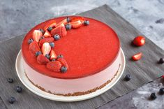 Cukormentes epres joghurttorta – Sweet & Crazy