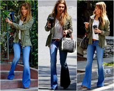 what to wear with flare pants - Google Search