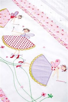 Fairy castle.  I would like to embelish a flour sack dish towel with this fairy design.  Really cute.