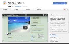 Palette for Chrome