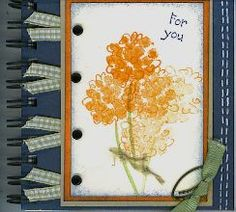 CC67 Notebook by kellymartin - Cards and Paper Crafts at Splitcoaststampers