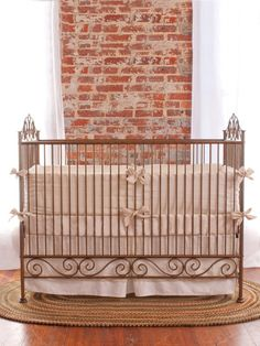 Casablanca Premiere Crib by Bratt Decor on Gilt. #baby #nursery
