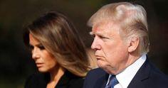 «Fake news» χαρακτηρίζει η Μελάνια τα περί κρίσης στον γάμο της με τον Ντόναλντ Τραμπ