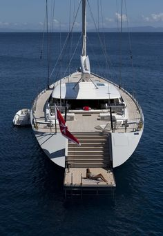 Sailing yacht Zefira by Fitzroy Yachts, Dubois Naval Architects and Remi Tessier.