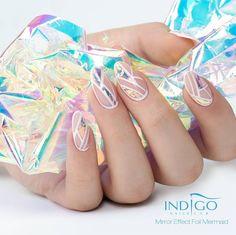 Mirror Effect Foil - Mermaid by Paulina Walaszczyk Indigo Educator #mermaid…