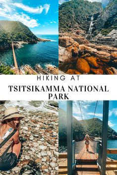 The Tsitsikamma National Park is located in the Eastern Cape, South Africa and provides many different hiking trails. Two of my all time favourite hiking trails being the mouth trail which leads to the famous Stormsriver suspension bridge and then the waterfall trail which is the first part of the world renowned Otter trail. Hiking Guide, Hiking Trails, Tsitsikamma National Park, Waterfall Trail, Suspension Bridge, Otter, South Africa, All About Time, Cape