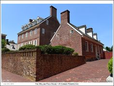 A southeast corner perspective of the mid 1760's William Paca House in Annapolis Maryland. Photograph published on June 24th 2015. To see a full size version of this photograph and the Annapolis Experience Blog article click on the Visit Site button. Image and article Copyright © 2015 G J Gibson Photography LLC.
