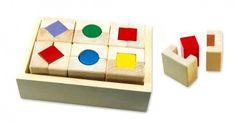 Drevené hračky - Poznaj tvary - Formen Quatro