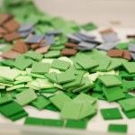 Minecraft cake tiles
