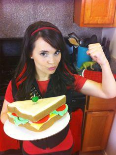 Team Fortress 2 Cake! The Sandvich Cake was so yummy! #nomnomnom