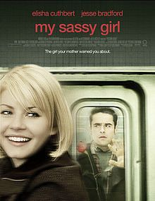"""Starring: Elisha Cuthbert and Jesse Bradford Directed by Yann Samuell Year 2008 Fox Home Entertainment """"An American remake of the 2001 South Korean My Sassy Girl"""""""