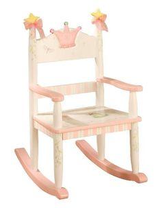 Teamson Design Princess Rocking Chair for Kids -ON BACKORDER UNTIL AUGUST 2017
