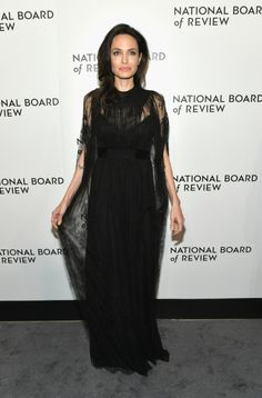 Angelina Jolie in Valentino at the 2018 National Board of Review