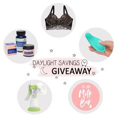 ⏰ Daylight Savings Survival Giveaway ⏰ . Hey sleepy mama, we know how hard the time change can be on your entire family. Although we can't make the adjustment easier for you, we want to help nurture you through this sleepy time. We've teamed up with some of the best breastfeeding and pumping brands to do a Daylight Savings Survival Giveaway!  Entering is easy! Head over to our IG to enter!
