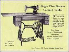 1907 singer sewing machine value